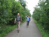 Groene Hartpad Wandeling Alphen aan den Rijn - Delft 16-17 juli 2011