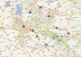 Utrechtpad Google Maps/Earth