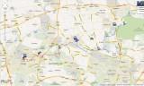 Hertogenpad Google Maps/Earth