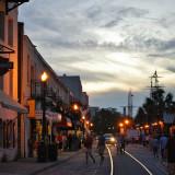 Evening on River Street