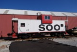 New Haven KY Caboose