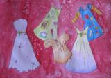 my beautiful dress, Amander Pu, age:7