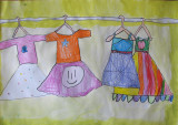 my beautiful dresses, Doris, age:6.5