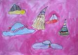 hats, Amber Su, age:5