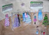 dress shop, Samantha, age:9