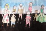 fashion design, Kongling, age:9