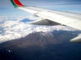 Mt Kilimanjaro taken from the plane
