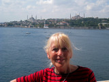 Istanbul in the background