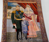 Tapestry of the Royal Family Nicholas II