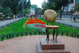Monument of the Twelve Chairs Novel authors Ilf and Petrov