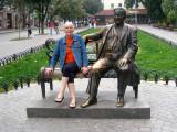 Playing tourist in Odessa Ukraine Sept 20, 2010