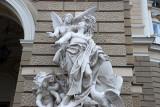 Elaborate buildings of Odessa