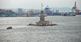 Sailing the Bospheros again Leanders Tower