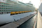 TURKEY:  The Queen Victoria docking at Kusadasi September 22, 2010