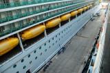 The Queen Victoria docking at Kusadasi September 22, 2010