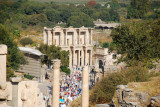 The Celsius Library in the Ancient City of Ephesus