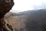It's hard to photograph the enormity of the crater