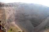 Mt Vesuvious crater