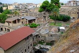 Herculaneum was  destroyed along with Ponpeii in AD79