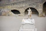 Replica statue of Nonius Balbus a nobleman