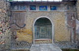 Mosiac covered Lararium - household shrine