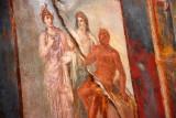 Closeup of the fresco