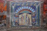 Neptune and Amphitrite mosiac wall