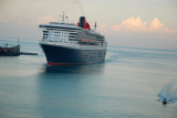 Queen Mary 2 docking in Civitavecchia September 25, 2010