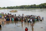 Mass Christening in the Nile