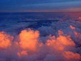 Sunset over Papua New Guinea 8 April, 2004