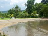 Beach and picnic area