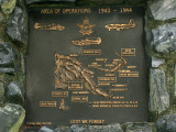 One of the WW2 memorials in PNG