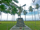 One of the many WW2 memorials in PNG