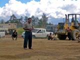 One of the village elders giving a speech 3 July,  2004