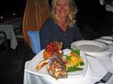 Sandi on a night out in Port Douglas 21 April, 2007