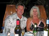 Kaz and Glenn at dinner in Port Douglas 21 April ,2007