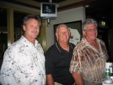 Glenn Pat and Dave in a pub in Port Douglas