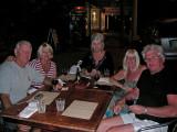 Dinner on 24 April ,2007
