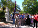 Procession along the main street of Port Douglas