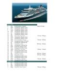 Around the World Cruise - January to  April, 2008