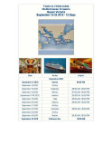 Mediterranean September 13 to 25 2010 Queen Victoria Itinerary