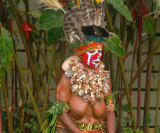 Local lady in ceremonial dress