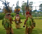 Traditional Mt. Hagen ceremonial dancers