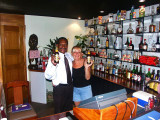 Kani and Rene at the Airways Hotel Port Moresby PNG