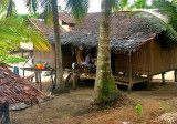 Mopsie's house in the village of Salamaua