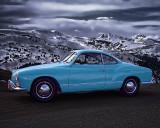 '64 Karmann Ghia in the Rockies
