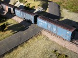 Blue Boxcars