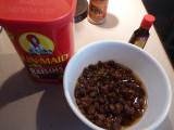 Soak Raisins 4 hours