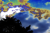 Clouds Solorized in editing