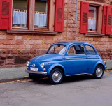 Fiat 500 Sunroof